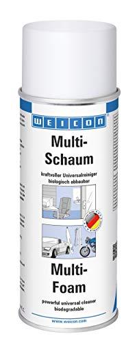 WEICON Multi-Schaum | 400ml | kraftvoller Universal Schaumreiniger | Effektiv auf Glas Fliesen Kunststoff Metall Keramik Haushalt Industrie | Citrus