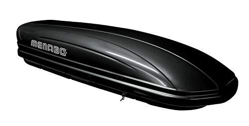 HABILL-AUTO Coffre de Toit Mania ABS 460 Noir