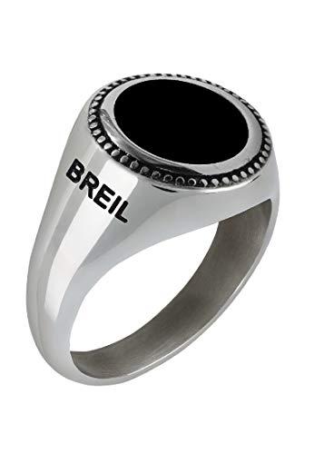 Breil anello uomo collezione over con una pietra in con pietre
