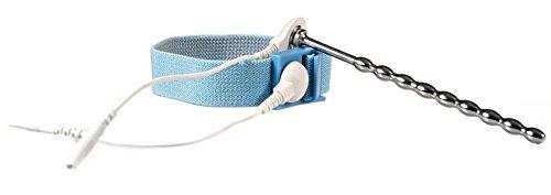 DR. ELECTRO ESTIM Elektro Dilator, Harnröhren Plug für Elektrostimulation, mit Penis- Hodenschlaufe, verschiedene Ausführungen (Stab Dilator)