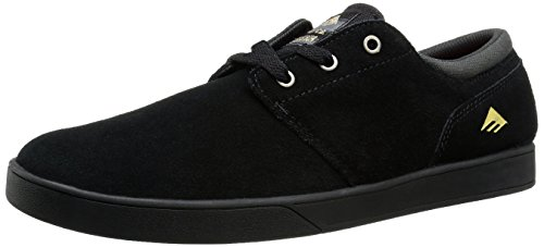 Emerica The Figueroa, Chaussures de Skateboard Homme - Noir - Noir/Noir, 41