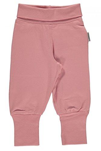 Maxomorra Baby Pants Rib DUSTY PINK 86/92 (Rosa Soft-capris)
