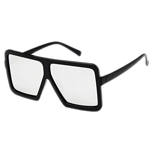 OULN1Y Sport Sonnenbrillen,Vintage Sonnenbrillen,Retro Big Frame Mirror Cat Eye Sunglasses Women Designer Big Vintage Cheap Sun Glasses Female UV400