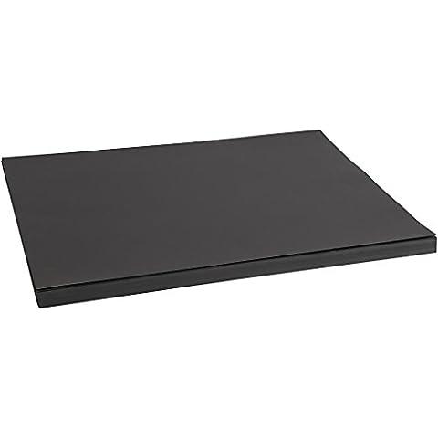 Cartoncino, A2 42x60 cm, 200 cm, nero,