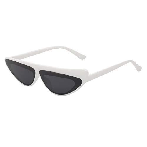 Syeytx Frauen Männer Vintage Eye Sonnenbrille Retro Eyewear Fashion Strahlenschutz 10 Farben