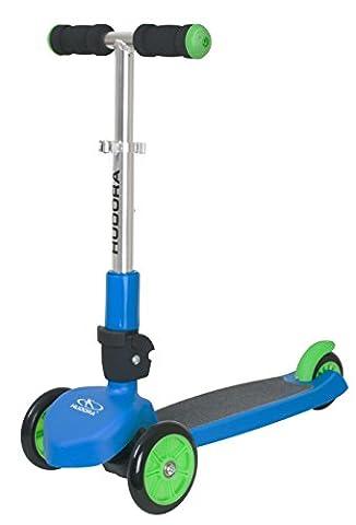 HUDORA Flitzkids Kinder-Scooter blau - Kinderroller -