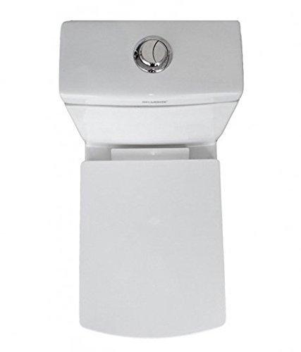 Belmonte Square S Trap Ceramic Water Closet (Standard, White)
