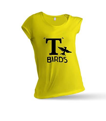 6bdf4e4f52121 JEMASHOP T Shirt Woman Yellow Inspired BY Grease. T Birds. Danny Zuko.  Kenickie. Doody. PUTZIE. Sonny (XS - XXL) XL