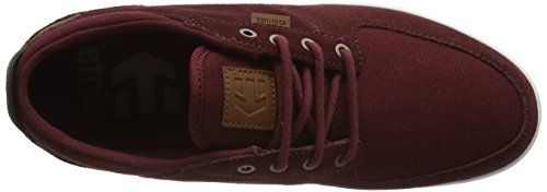 Etnies Herren Hitch Skateboardschuhe Red (Burgundy602)