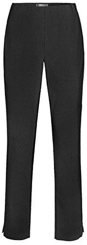Stehmann INA-740, bequeme,stretchige Damenhose-bitte mindestens 1 Nummer kleiner bestellen 36, Schwarz