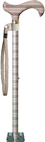 elegante-bastone-derby-regolabile-in-altezza-con-quadretti-neri-bianchi-rossi-2-puntali-e-anello-al-