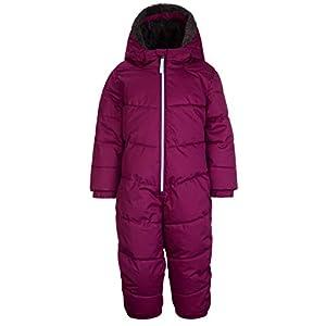 Killtec Mädchen Bally Mini Skioverall / Schneeanzug mit Kapuze und Schneefang
