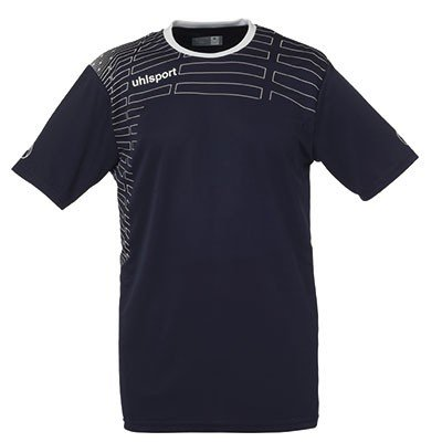 Uhlsport MATCH Team Kit (Shirt&Shorts) SS - marine 14/weiß, Größe:XXS