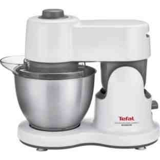 Tefal QB200140 Compact Kitchen Machine – White (91JGF29) (Certified Refurbished)