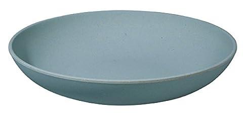 Zuperzozial assiettes creuse calotte/bol/assiette creuse pour pâtes bIO powder blue