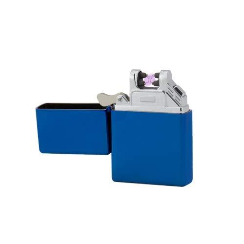 TESLA Lighter T03 | elektronisches USB Lichtbogen Feuerzeug, Blau