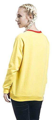 Pokémon Pikachu Sweat-shirt Femme jaune Jaune