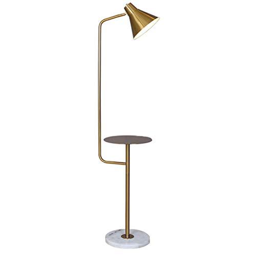 Lampadaire Lampadaire Élégant En Fer Forgé Lampadaire Personnalisé Lampadaire Vertical Rétro Lampe De Table D'étude Lumière Tamisée
