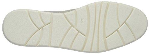 Softline 24665, Mocassins Femme Blanc (White/silver 191)