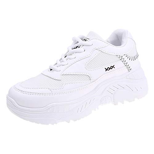 KERULA Sneaker Damen Herren Frauen Weiß Casual Sport Outdoor Wanderschuhe Med Lace Up Mädchen Schuhe Sicherheitsstiefel Sportlich Wanderhalbschuhe (New Winter Boots Balance-womens)