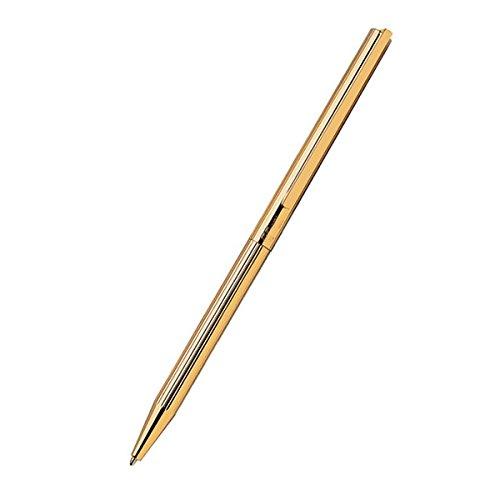 Preisvergleich Produktbild S.T. Dupont Klassischer Kugelschreiber mit Linien, Gelbgold