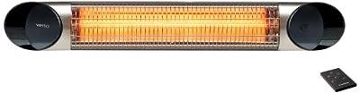 Veito Infrarot Heizstrahler Carbon Infrared Heater - blade S 2500 schwarz oder silber IP55 von Veito auf Heizstrahler Onlineshop