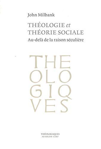 Théologie et théorie sociale