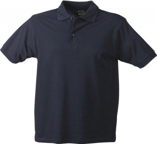 Hochwertiges Polohemd mit Armbündchen Navy