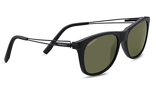 Serengeti Pavia Sonnenbrille schwarz