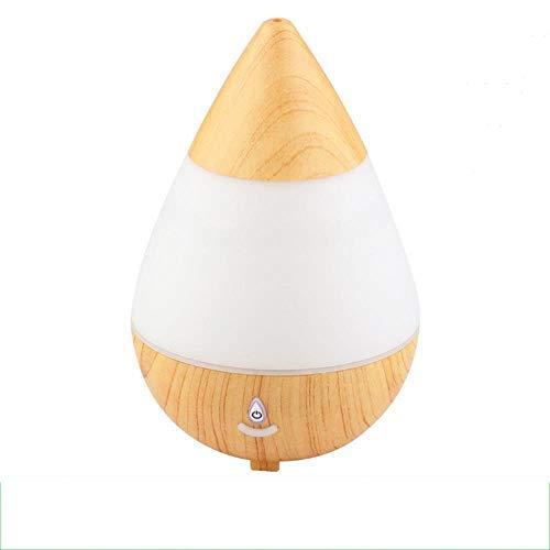 Y-YT Aromatherapie Luftbefeuchter Große Wasser fallen USB Duft Maschine Bluetooth Lautsprecher bunte Farbwechsel-Ultraschall-Luftbefeuchter 235ml
