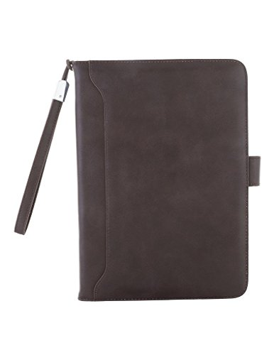 CELZO Executive Premium Quality Leather Tablet Flip Cover Case for Apple Ipad Mini 1/2/3   {Brown}
