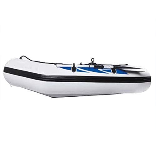 ZOUBIAG Schlauchboot for 2/3/4 Personen Mit Aluminiumpaddeln Und -pumpen for Ruhige Gewässer Im Freien (Color : White, Size : B)