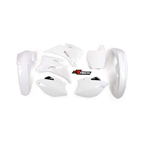 Racetech - Kit Plastique Complet Rtech Compatible Yamaha 250 450 YZF 06-09 / White Blanc