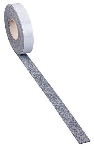 haggiy Filzstreifen - Möbelgleiter selbstklebend 'Premium' - 5,0 mm stark | Breite: 10mm | Länge: 5m -