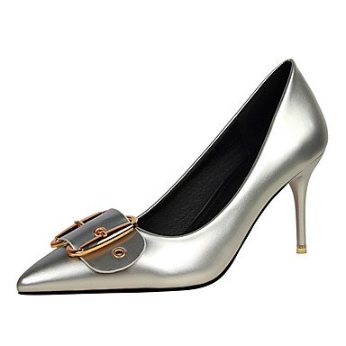 Moda Donna Sandali Sexy donna tacchi Primavera / Estate / Autunno / Inverno Comfort Nozze in similpelle / Party & sera abito / / Casual Stiletto Heel OthersBlack / Silver