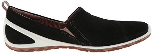 Ecco  BiomLite, Chaussures de Running Compétition femme Noir (Black/Woodrose Yabuck/59930)