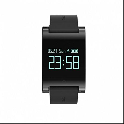 Sport Smartwatch Bluetooth Smart Uhr Wrist-Anzeige OLED-Bildschirm sesshaft erinnern Pulsuhren sportuhr Multi-Sport Modus Sport uhr für iOS und Android Geräte