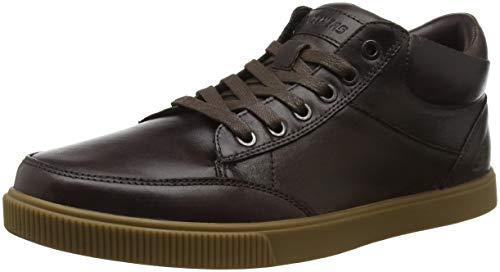Skechers Herren Volden-Naptor Chukka Boots, Braun Chocolate, 47.5 EU - Eye Chukka Leder Boots