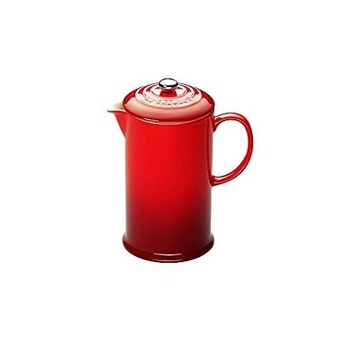 Le Creuset Steinzeug Kaffee-Bereiter 0,75 L, kirschrot (Le Cruiset)