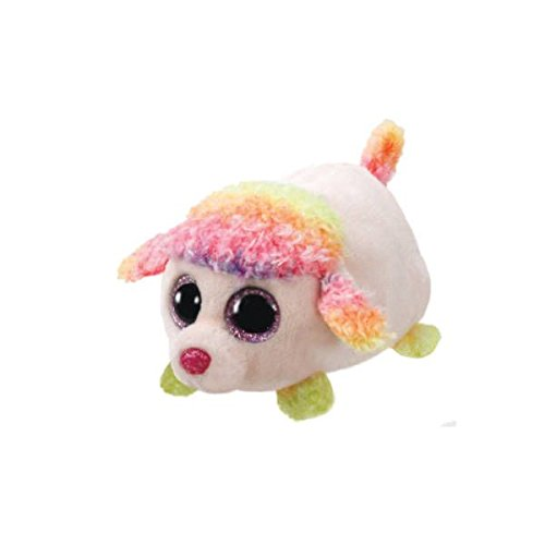 Teeny Ty Dog Poodle - Floral - 10cm 4""