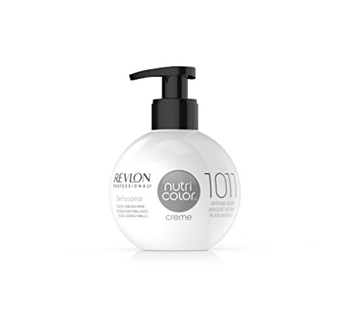 REVLON PROFESSIONAL Nutri Color Creme ,Nr. 1011 Intense Silver,1er Pack (1 x 270 ml)