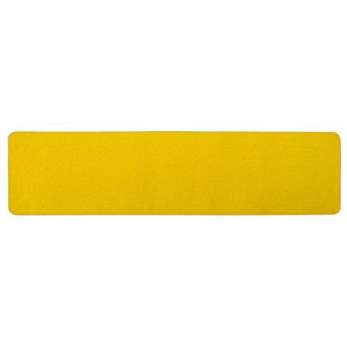 Aufkleber, Skateboard Bänder (Antirutsch Klebestreifen Warnmarkierung Gelb | Ultra Grip - für unebene Flächen| indoor und outdoor - 15x61 cm | 10 Stück)