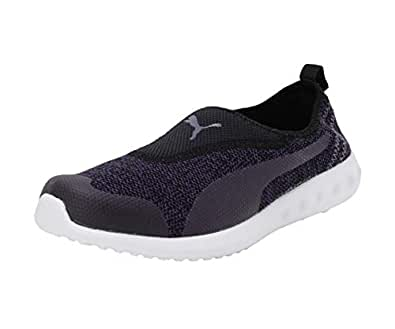 PUMA Women's Concave 2 Slip-On Wn s IDP Indigo Black Running Shoes-3 UK/India (35.5 EU) (4060979625143)