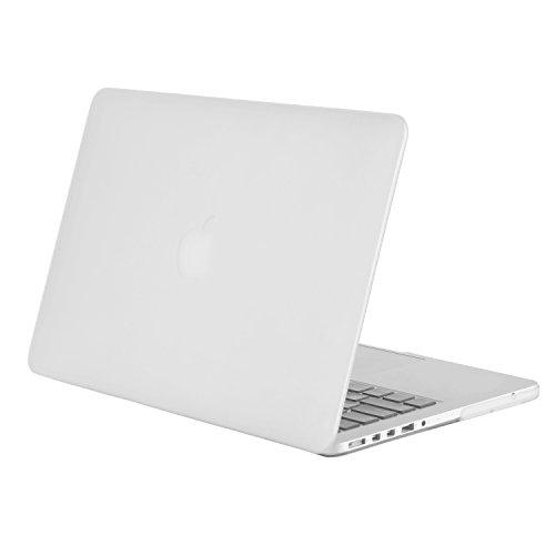 MOSISO MacBook Pro 13 Retina Hülle (NO CD-ROM Drive) - Ultra Slim Hochwertige Hartschale Tasche Schutzhülle Snap Case für MacBook Pro 13 Zoll mit Retina Display (A1502 / A1425, Version 2015/2014/2013 / Ende 2012), Frost (Macbook Pro Hard Case 13 Zoll)