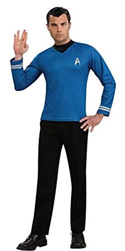 Star Trek Spock-Kostüm für Erwachsene von Rubie's, Größe - Startrek Kostüm