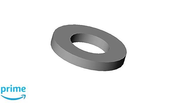 Unterlegscheiben DIN 125//Kunststoff PA schwarz M6