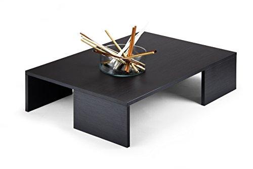 Mobilifiver Rachele Tavolino da Salotto, Legno, Pino Nero, 90 x 60 x 21 cm