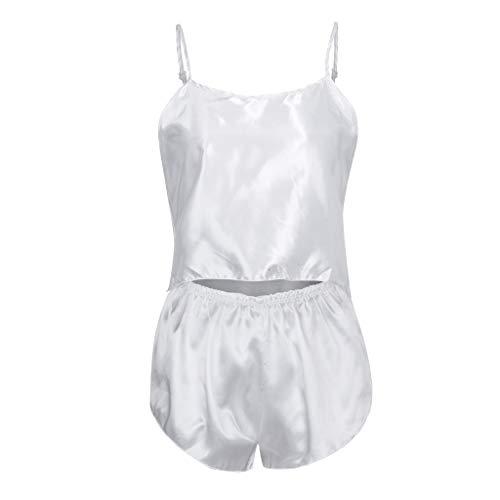 SOMESUN Damen LäSsig Sexy Unterwäsche Kurze Pyjamas Leibchen Shorts Pyjamas Set Damen Unterwäsche Baby Kleidung Engen Elastischen Mieder Pyjamas - String-käse