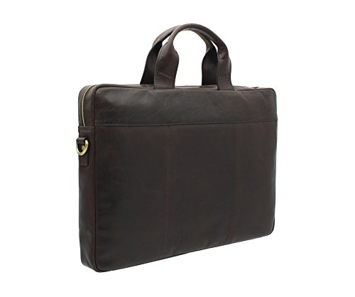 Collezione Visconti Merlin Charles Borsa A4 Business Marrone Ml28 Marrone