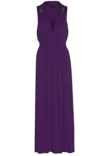 Glossy Look Damen Kleid Rosa Pink One size Violett